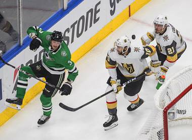 The Golden Knights know what a 3-1 lead in a playoff series feels like. They know how hard that fourth win can be. Vegas trails the Dallas Stars 3-1 in the Western Conference Final, needing a win at 5 p.m. tonight in Game 5 to keep the season alive. In the last round of the ...