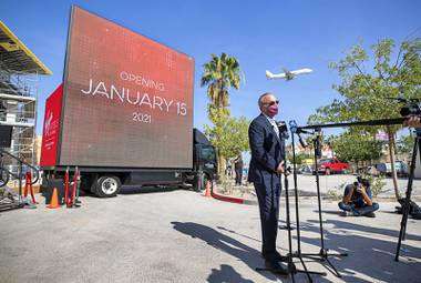 Virgin Hotels officials today announced a new opening date of Jan. 15 for the hospitality brand's debut in Las Vegas just east of the Strip at the former Hard Rock Hotel site while also expressing support for the members of Southern Nevada's most essential industry currently struggling through the pandemic.