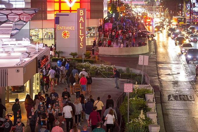 Increased Police Presence on Strip