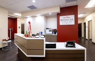 A new employee health clinic for Station Casinos employees and their families is shown at the Red Rock Resort Friday, Dec. 11, 2020. Station Casinos is opening clinics at Red Rock and at Sunset Station in Henderson on Tuesday, Dec. 15.