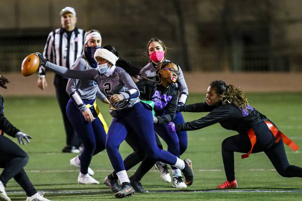 Vegas-area flag football coaches give prep athletes who lost their season a chance to play
