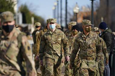 In the aftermath of the deadly riot at the U.S. Capitol last week, questions are being raised about why the District of Columbia National Guard played such a limited role as civilian law enforcement officers were outnumbered and overrun.