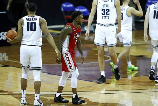 Disappointing UNLV season ends with blowout loss to Utah State