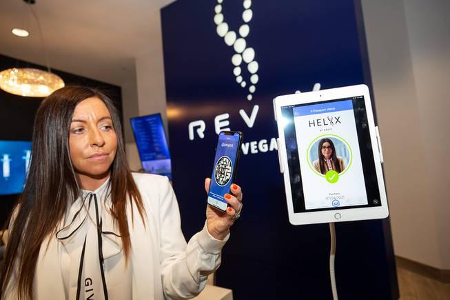 Reviv Global's HELIIX HealthPassport