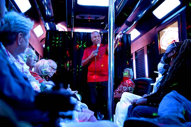 Smiley Joe Wiley Comedy Party Bus