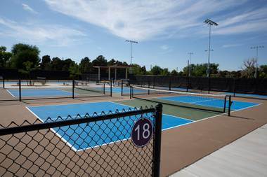 Las Vegas is getting its momentum back as the country turns a corner on COVID-19, and proponents of the new pickleball facility see it as another entry in a long list of local attractions. Pickleball is a mixture of racket sports, with the movement of tennis, table tennis and badminton ...