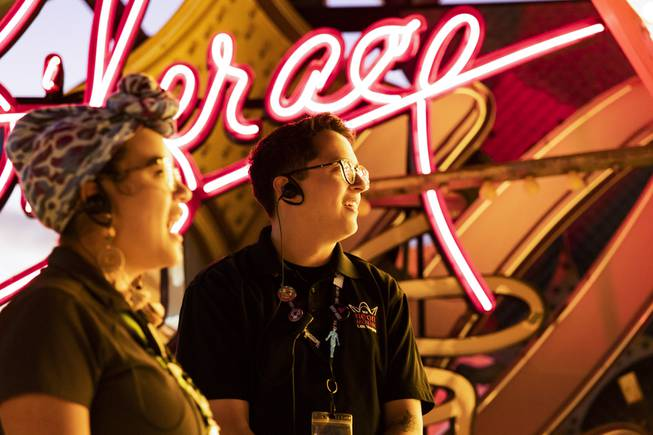 Neon Museum Offers Spanish Tours