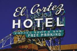 Martini Madness daily happy at the El Cortez