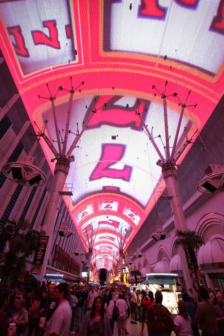 Fremont Street Experience's Downtown Countdown New Year's Eve Celebration