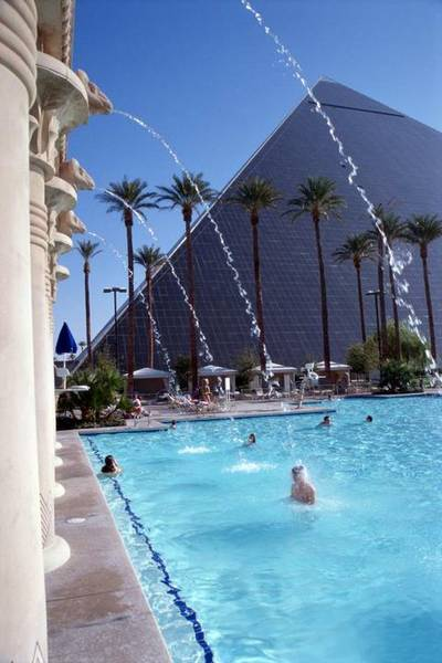 Pool at Luxor