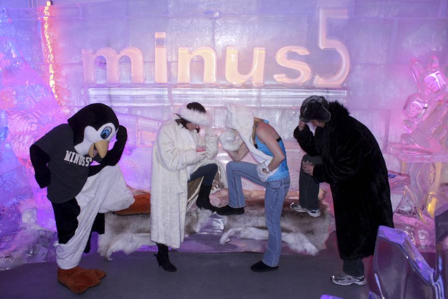 minus5° Ice Bar