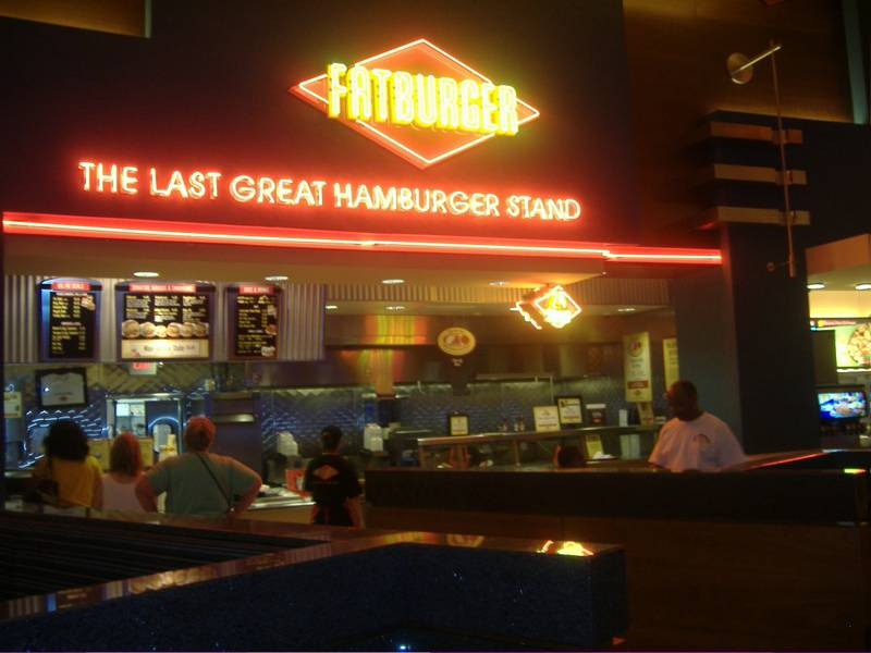 Fatburger inside Red Rock