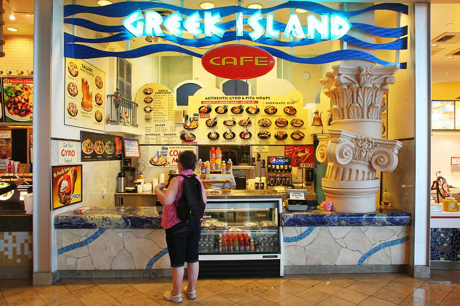 Greek Island Cafe