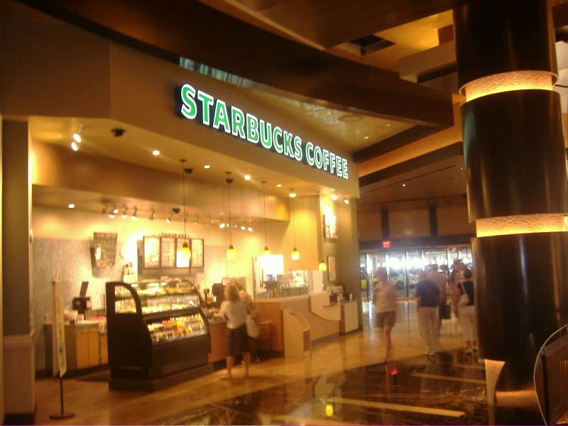 Starbucks inside Red Rock