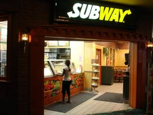 Subway at Plaza