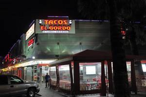 Tacos El Gordo on the Strip