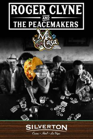 Enter to win tickets to Roger Clyne & The Peacemakers at the Silverton Casino