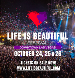 Enter to Win VIP 3-Day Passes for Life is Beautiful!