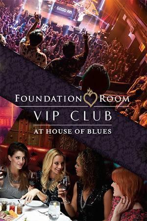 Enter to Win a Foundation Room VIP Club Membership!
