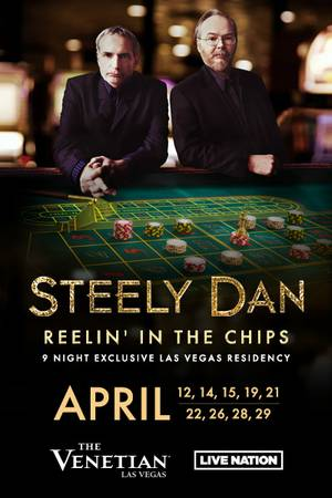 Enter to win tickets to Steely Dan at The Venetian Las Vegas