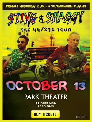 Enter to win tickets to see Sting & Shaggy