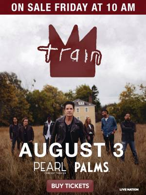 Enter to win tickets to see Train at the Pearl