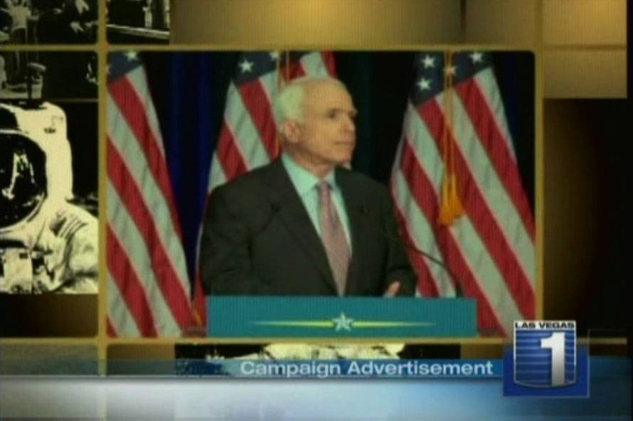 Reality Check: John McCain\'s Campaign Advertisment