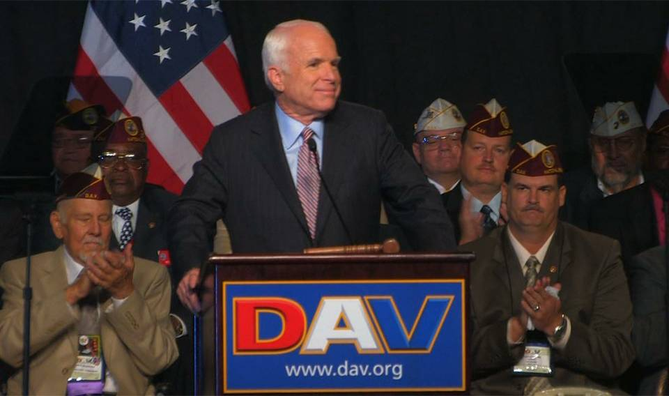 John McCain speaks in Vegas