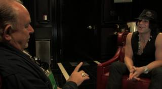Criss Angel interview at 'Believe' premiere