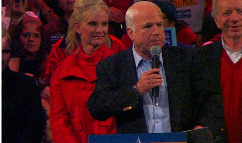 John McCain campaigns through Henderson