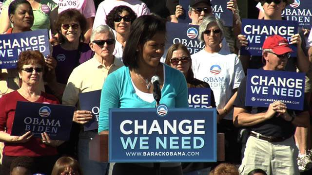 Michelle Obama Speaks in North Las Vegas