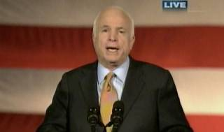 McCain's Concession Speech