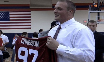 Chaisson Signs with Oklahoma