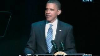 Obama speaks at Caesars, part 1