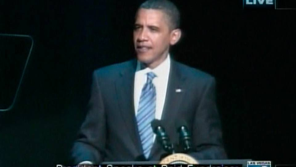 Obama speaks at Caesars, part 4