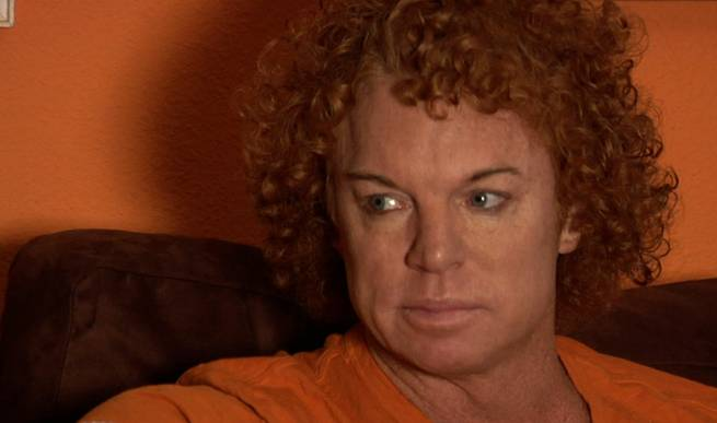Backstage With Carrot Top