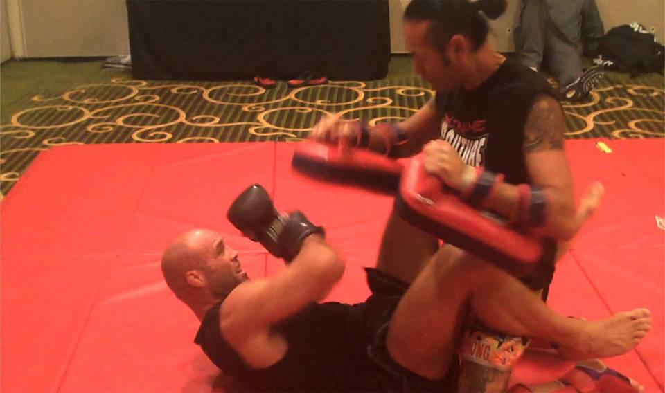 UFC 102 Workouts