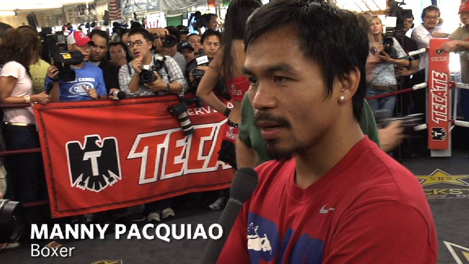 Pacquiao Prepares for Cotto