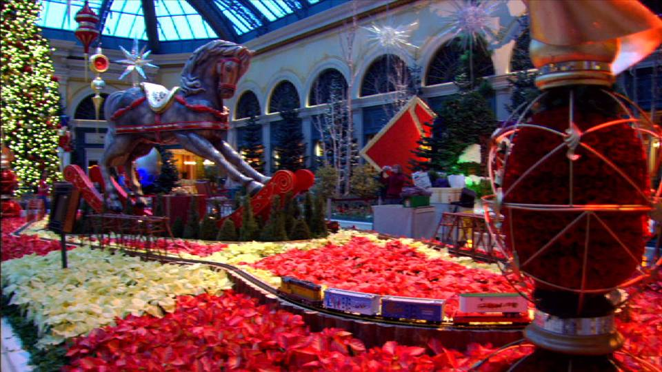 Bellagio Conservatory Christmas 2009