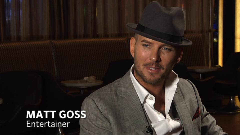 Matt Goss Goes to the Strip