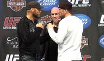 Final thoughts from the headliners before Saturday's UFC 109.