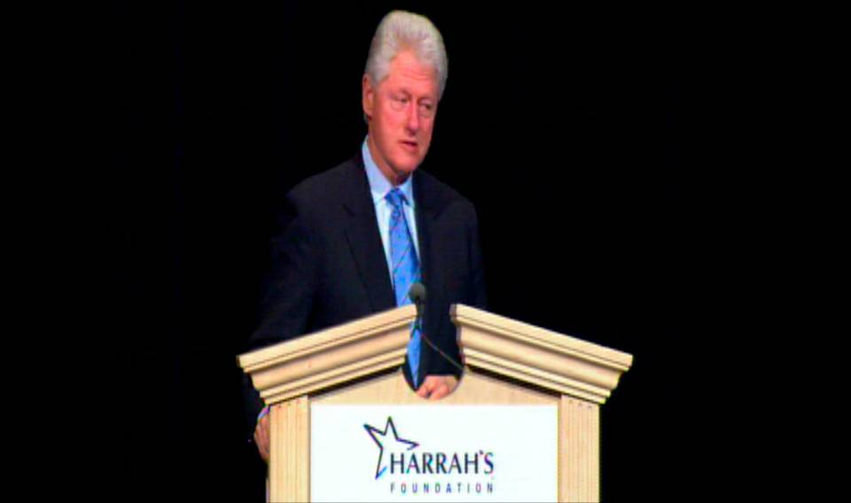 Harrah\'s Gives $1 Million to Clinton Foundation
