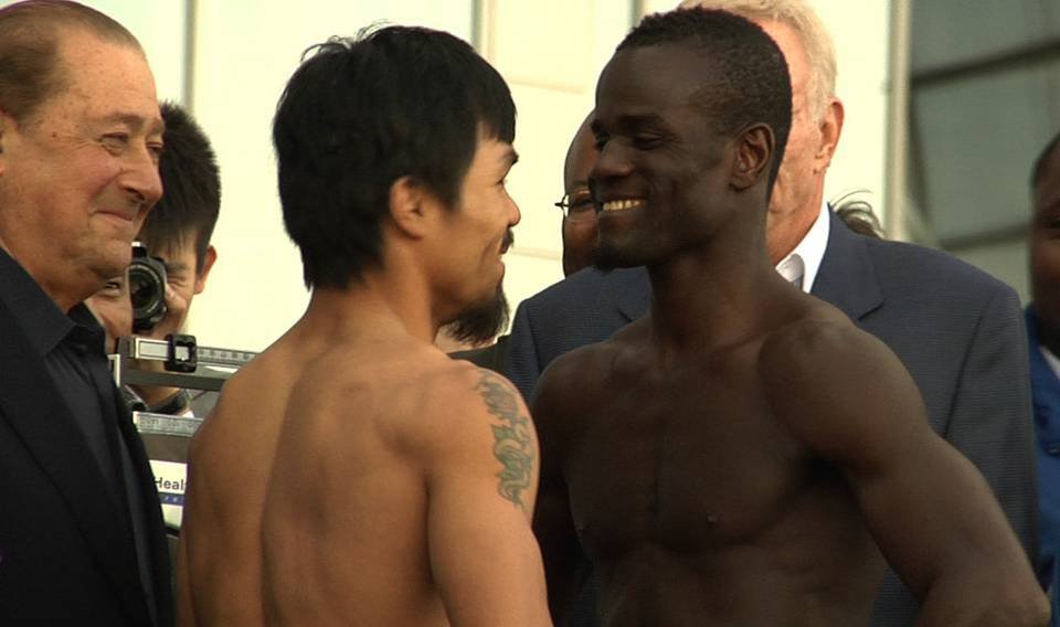Pacquiao vs. Clottey: Weigh-In