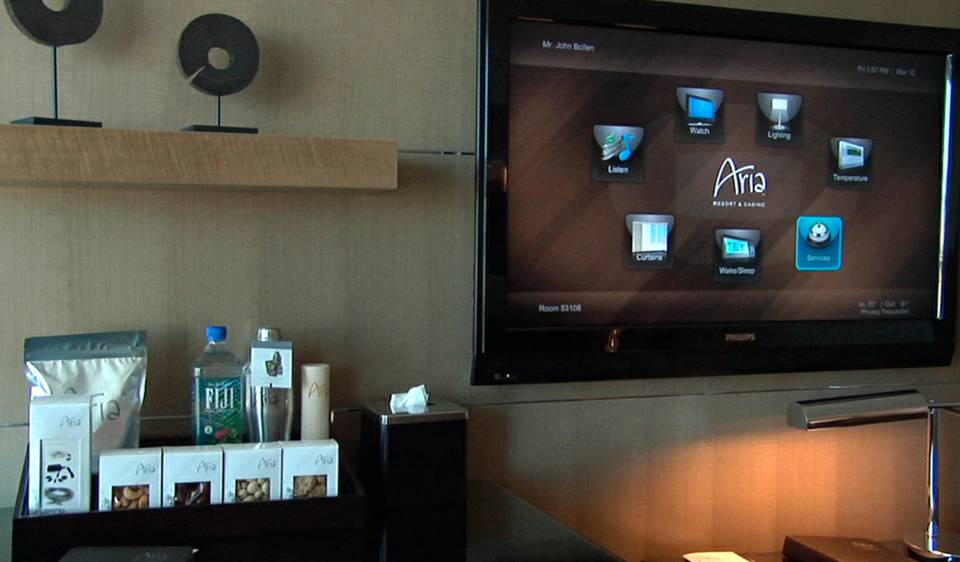 Aria\'s In-Room Technology