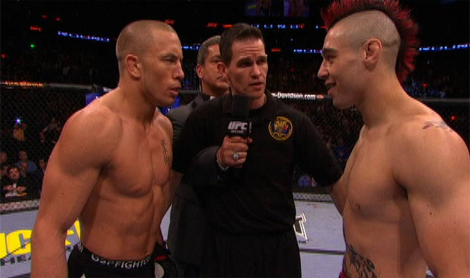 UFC 111: GSP, Carwin Victorious