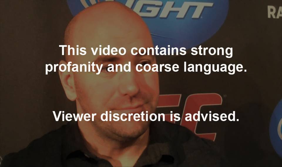Fireside Chat with Dana White: UFC 114