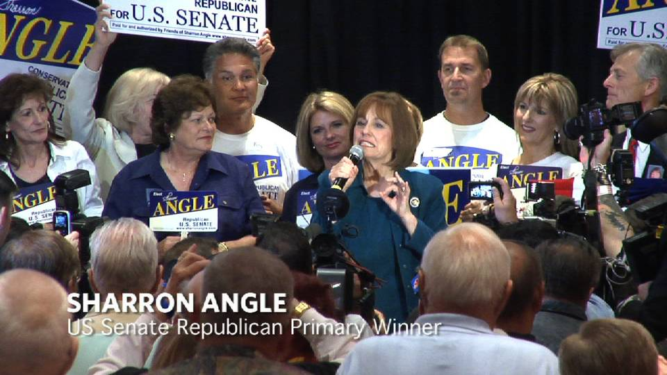 Angle Wins US Senate GOP Primary