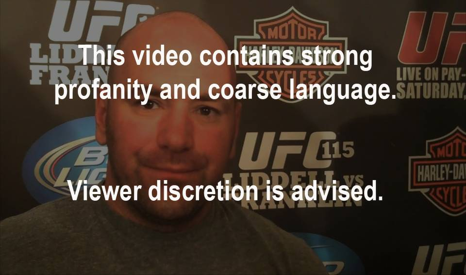 Fireside Chat with Dana White: UFC 115