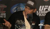 Light Heavyweight Rich Franklin knocks out Chuck Liddell in the main even of UFC 115.