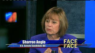 Sharron Angle Clears the Air, Seg. 2